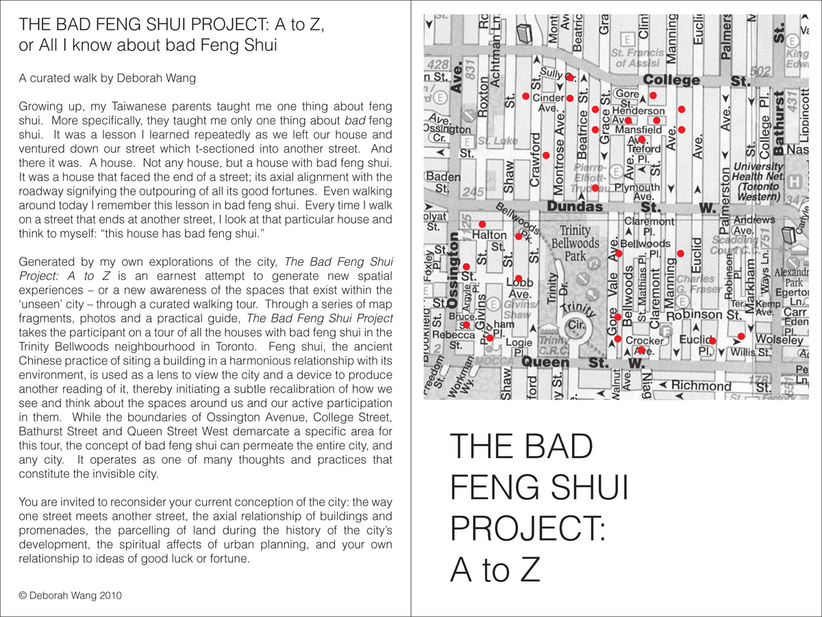 the bad feng shui project a to z projects for the city. Black Bedroom Furniture Sets. Home Design Ideas